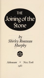 Cover of: The joining of the stone