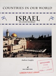 Cover of: Israel in our world