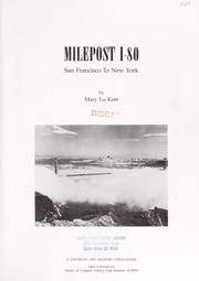 Cover of: Milepost I-80 | Mary Lu Kost
