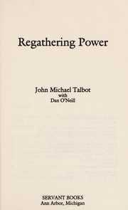 Cover of: Regathering power