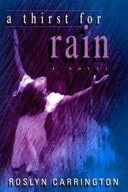 Cover of: A Thirst for Rain