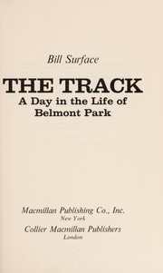 Cover of: The track | William Surface