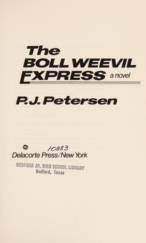 The boll weevil express by P. J. Petersen