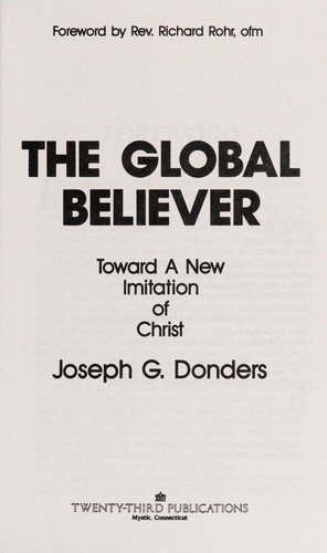 The global believer by Joseph G. Donders
