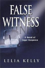 Cover of: False witness
