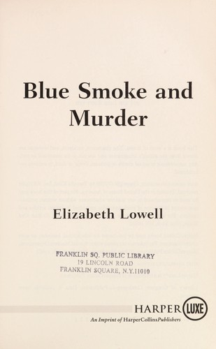 Blue smoke and murder by Ann Maxwell