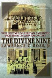 Cover of: The divine nine | Lawrence C. Ross