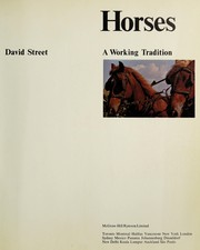 Cover of: Horses | Street, David