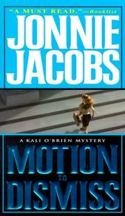 Cover of: Motion To Dismiss (Kali O'Brien Mysteries)