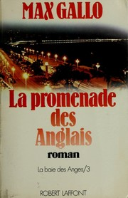 Cover of: La promenade des Anglais