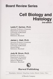 Cover of: Cell biology and histology | Leslie P. Gartner
