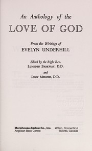Cover of: An anthology of the love of God | Evelyn Underhill