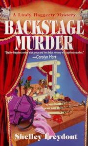 Cover of: Backstage Murder (Linda Haggerty Mysteries)