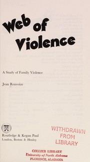 Cover of: Web of violence | Jean RenvoizeМЃ