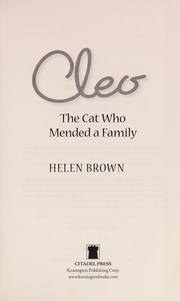 Cover of: Cleo | Brown, Helen