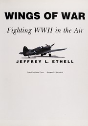 Cover of: Wings of war