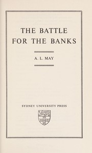 Cover of: The battle for the banks