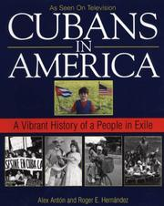 Cover of: Cubans In America | Alex Anton