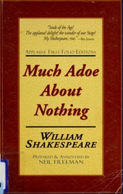 Cover of: Much Adoe About Nothing | William Shakespeare
