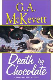 Cover of: Death by chocolate: a Savannah Reid mystery