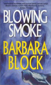Cover of: Blowing Smoke (Robin Light Mysteries)