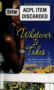 Cover of: Whatever it takes | Gwynne Forster