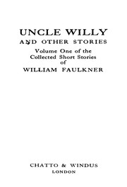 Cover of: Uncle Willy and Other Stories