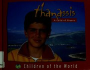 Cover of: Children of the World - Thanassis | Alain Gioanni