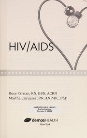 Cover of: What nurses know-- HIV/AIDS