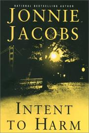 Cover of: Intent to harm