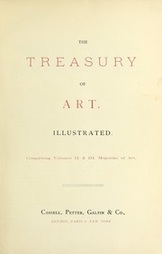 Cover of: The treasury of art. |
