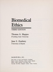 Cover of: Biomedical ethics |