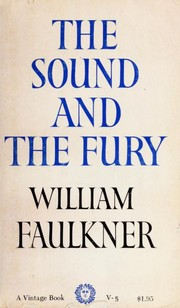 Cover of: The Sound and the Fury