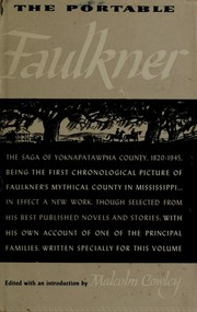 Cover of: The portable Faulkner