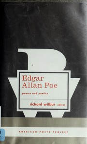 Cover of: Poems and poetics | Edgar Allan Poe