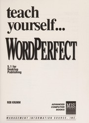 Cover of: Teach Yourself Wordperfect 5.1 | Robert Krumm