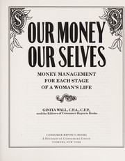 Cover of: Our money, our selves