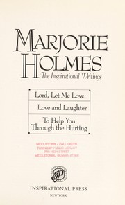 Cover of: Marjorie Holmes: The Inspirational Writings