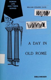 Cover of: A day in old Rome