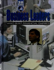 Cover of: Business leaders who built financial empires | Jodine Mayberry