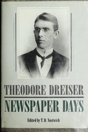 Cover of: Newspaper days