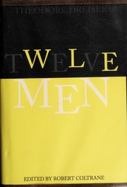 Cover of: Twelve Men