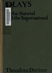 Cover of: Plays of the natural and the supernatural