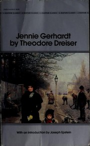 Cover of: Jennie Gerhardt | Theodore Drieser
