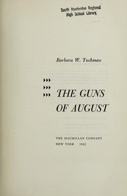 Cover of: The guns of August