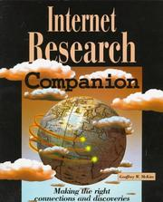Cover of: Internet research companion