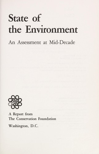 State of the environment by