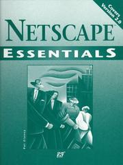 Cover of: Netscape essentials