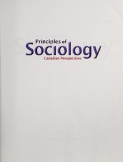 Cover of: Principles of sociology