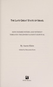 Cover of: The late great state of Israel